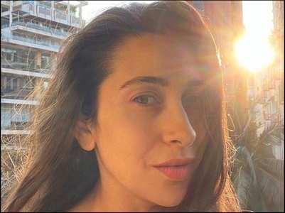 Karisma shares mesmerising sun-kissed selfie