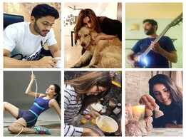 Playing guitar to teasing brain cells in chess! Fun-filled indoor activities keep Parambrata, Rukmini and other Tolly celebs busy during self-isolation