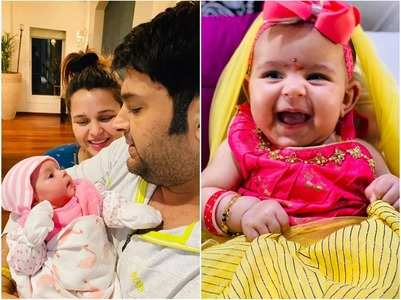 PICS: Kapil celebrates ashtami with daughter