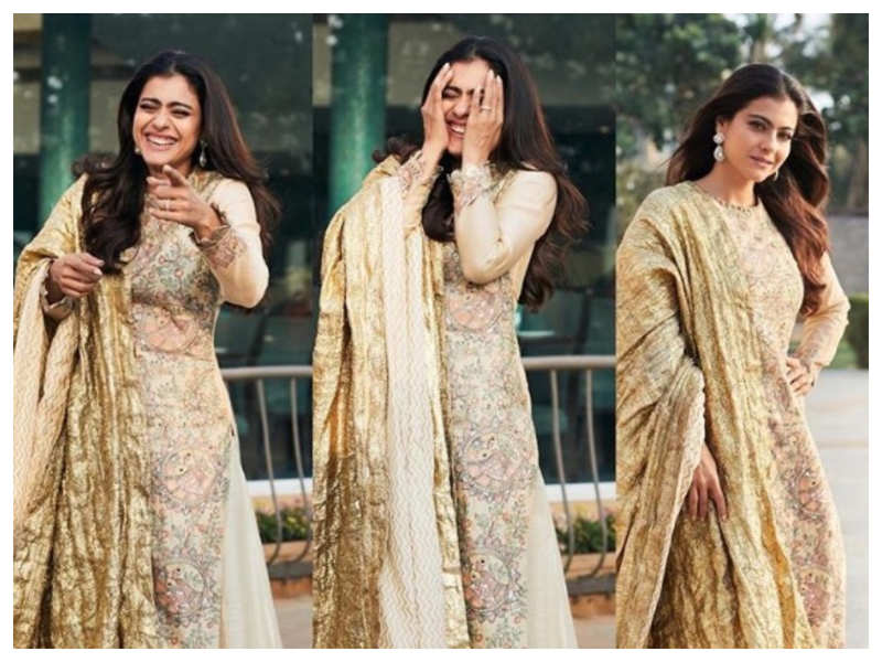 Kajol feels that her photo session starts and ends in a different way and we cannot agree more with the actress!