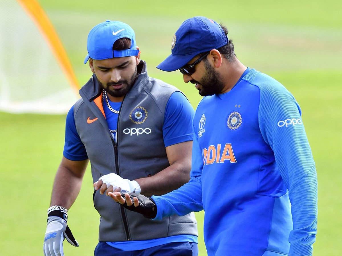 Rohit Sharma roasts Rishabh Pant over 'biggest six challenge' | Cricket News - Times of India