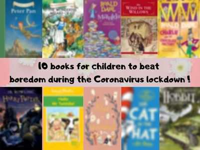 10 books for children to beat boredom