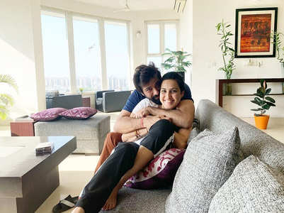 Kamya gets pampered by hubby Shalabh