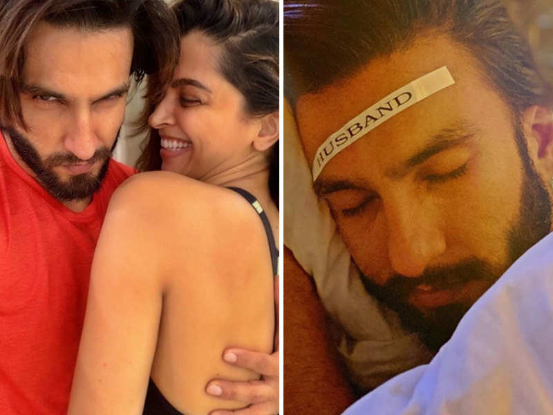 Deepika Padukone Labelling Ranveer Singh As Husband Is The Cutest Thing On The Internet Today Hindi Movie News Times Of India