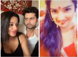 From Monalisa to Aamrapali Dubey: A look at Bhojpuri actresses who made videos on trending songs during lockdown