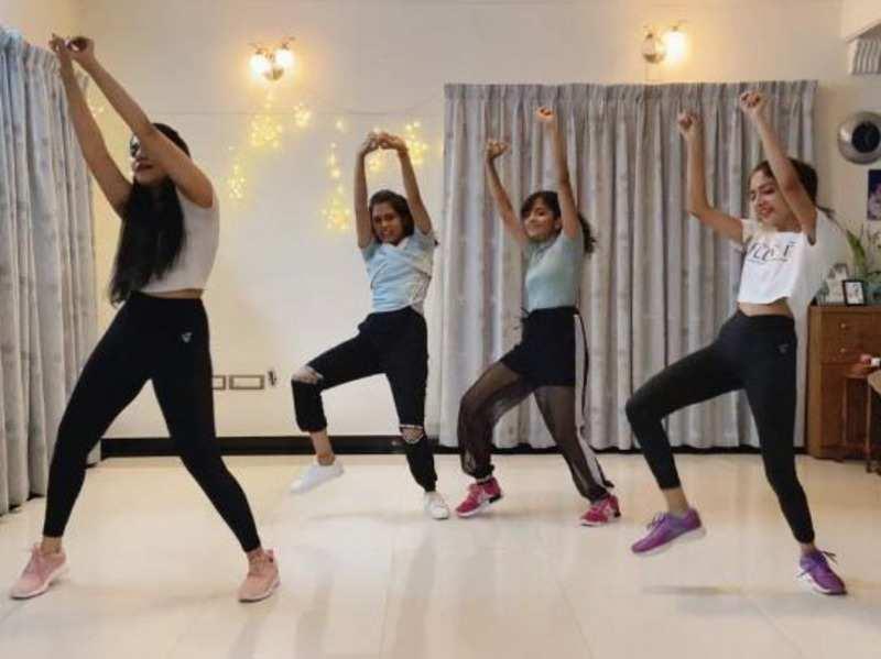 Check out Ahaana Krishna and sisters dancing for Oh Nanana song