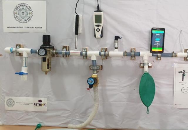 IIT-Roorkee professors make low cost portable ventilator to help COVID-19 patients