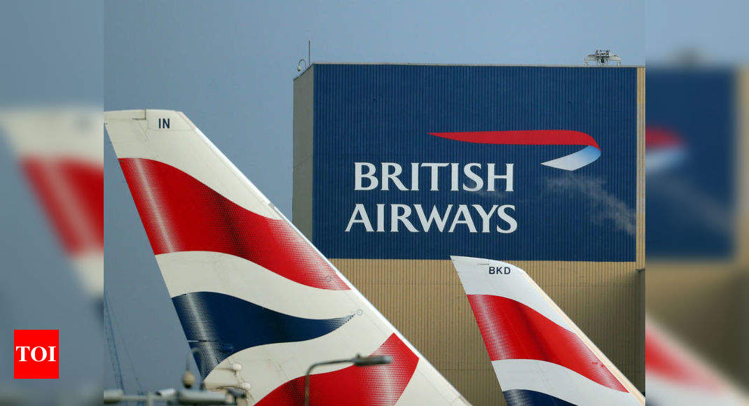 British Airways to suspend thousands of staff, owner scraps dividend - Times of India thumbnail