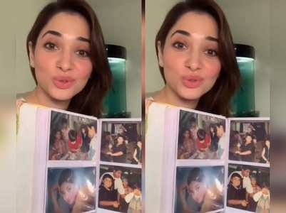 Video: Tamannaah takes a trip down memory lane