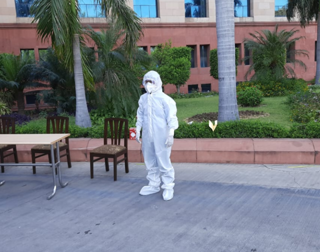 DRDO uses 'tech for submarine' to make special suits for medical staff fighting coronavirus