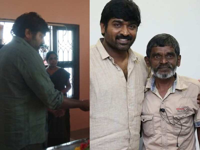 'Master' actor Vijay Sethupathi pays his last respects to senior journalist Nellai Bharathi