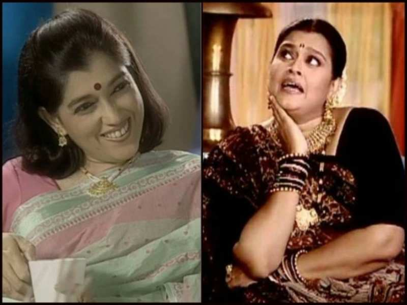 Ratna Pathak and Supriya Pathak in the picture