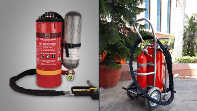 COVID-19: DRDO converts fire fighting equipment into machines to spray disinfectants in public places