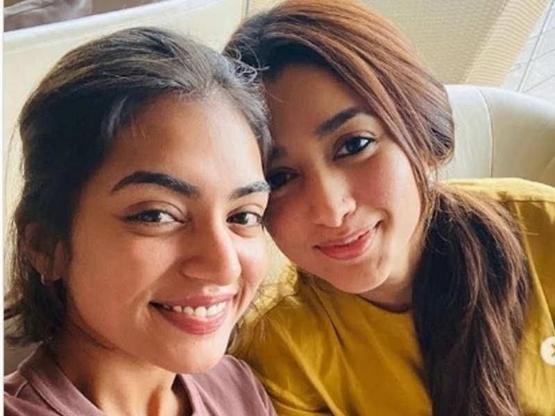 Lockdown effect: Nazriya and Dulquer's wife Amal's social media posts go viral