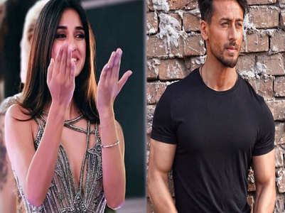 Disha Patani cheers for Tiger Shroff