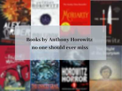 Books by Anthony Horowitz no one should ever miss