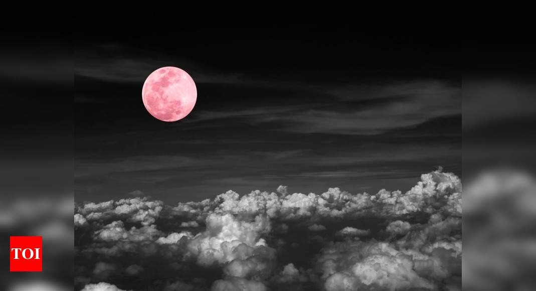 Super Pink Moon: When to witness the brightest full moon of 2020 - Times of India