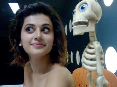 When Taapsee met Achmed The Dead Terrorist!