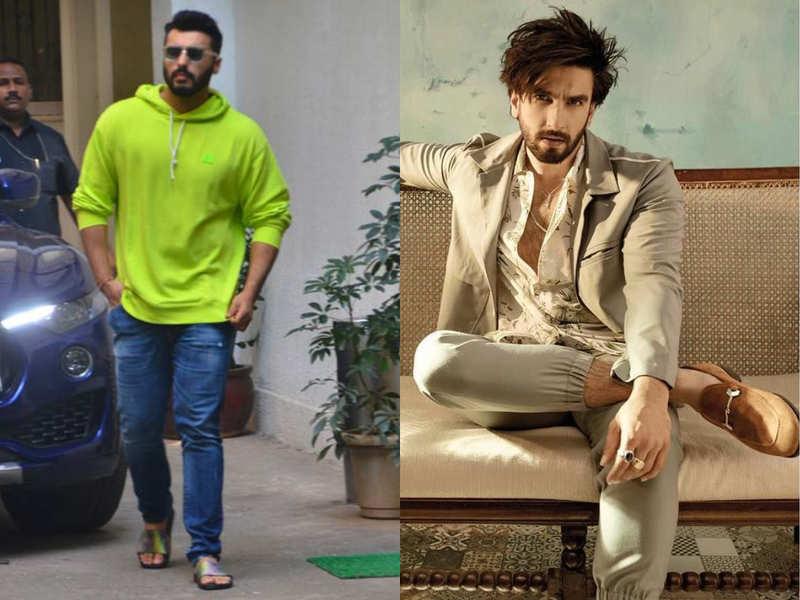 Arjun Kapoor's sliders to Ranveer Singh's loafers: 5 shoes Bollywood stars swear by