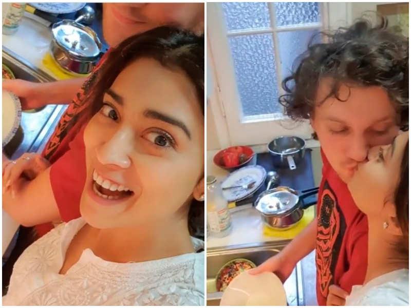 Shriya Saran reveals the reason she married Andrei Koscheev