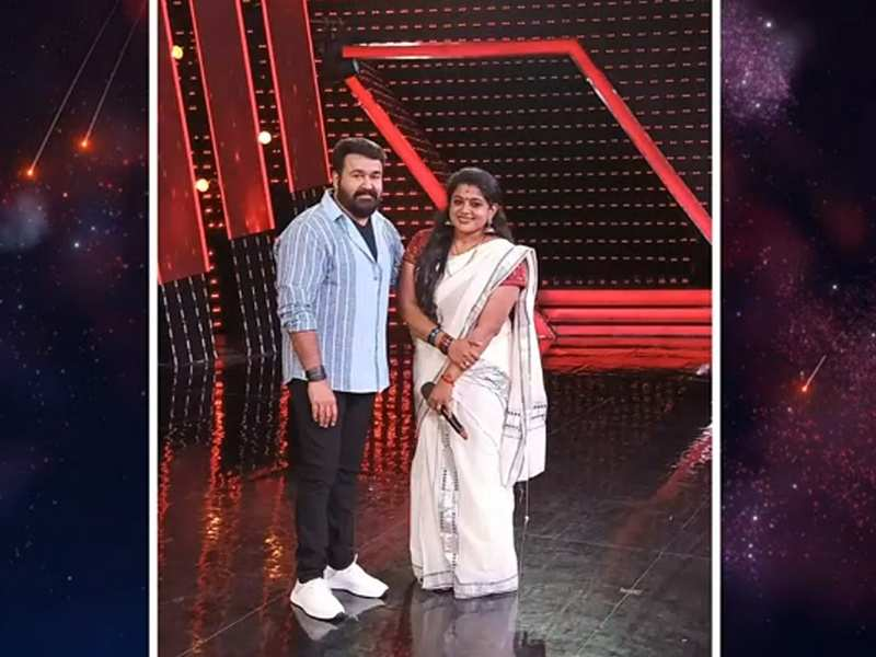 Bigg Boss Malayalam fame Veena Nair cherishes her fan girl moment with Mohanlal, see post