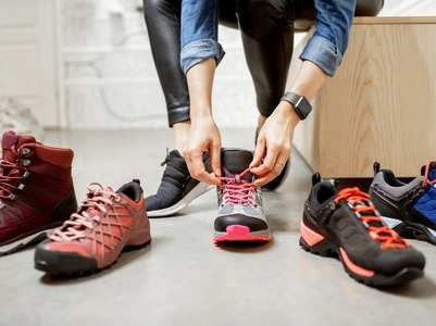 Most suitable shoes for different workouts