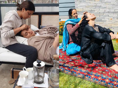 Kangana Ranaut's quarantine beauty regime