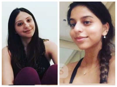 Suhana Khan takes online belly dance classes