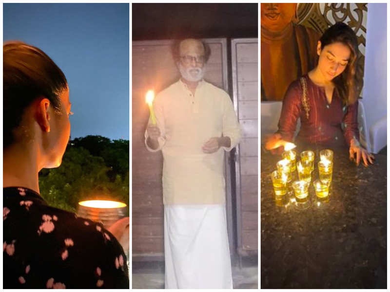 #9PM9minute: Kollywood celebs light candles and diyas