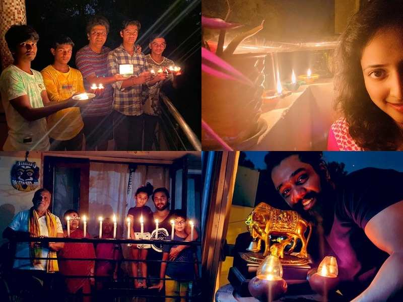 #9PM9minute: Kannada stars including Kichha Sudeep, Puneeth Rajkumar and others support PM Narendra Modi's appeal by lighting diyas