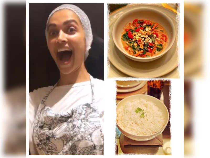 Deepika Padukone cooks a delicious Thai meal for Ranveer Singh, watch out the recipes