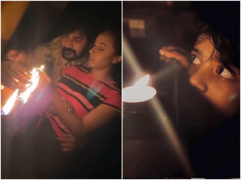 #9pm9minutes: Srinish Aravind to Abhirami Suresh, TV celebs express solidarity by lighting diyas