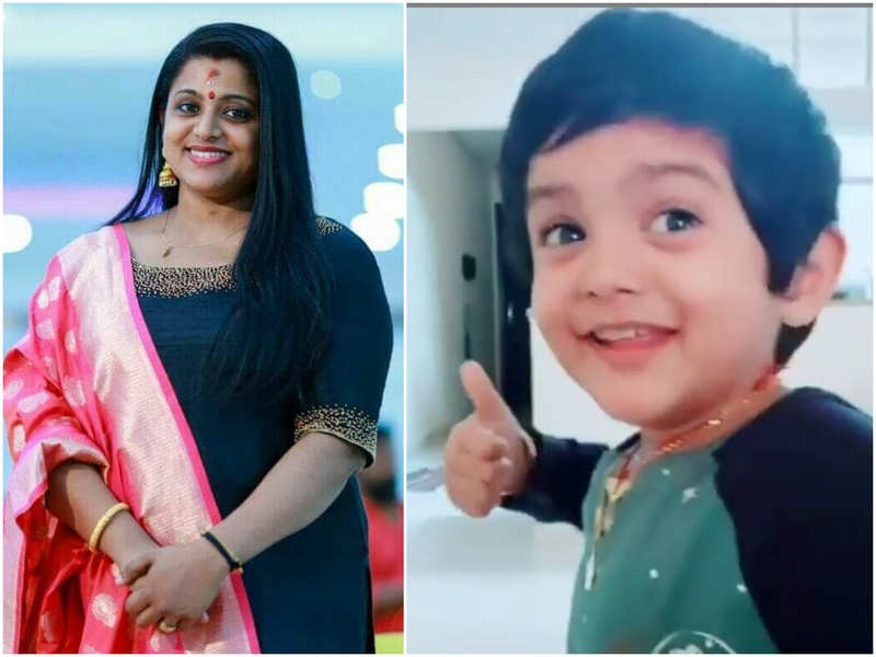Bigg Boss Malayalam fame Veena Nair shares video of son Ambadi's cute dance performance; take a look