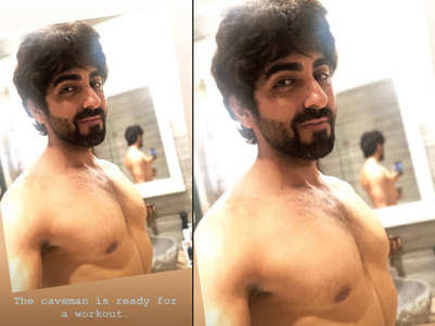Ayushmann shares his rugged 'Caveman' look