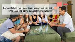 Aakanksha Singh is making the best use of her quarantine time in Jaipur