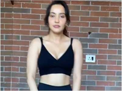 Watch: Neha attempts the 'T-shirt' challenge