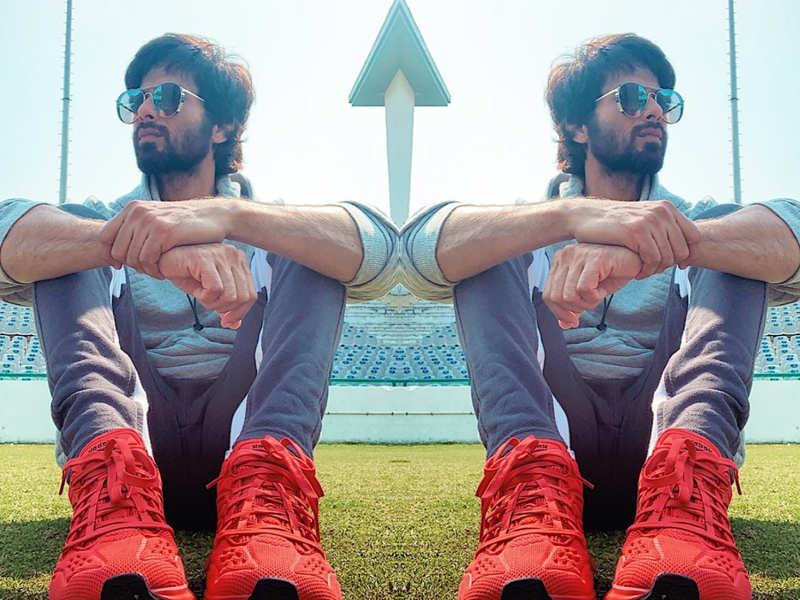 Guess the price of Shahid Kapoor's red and sunbaked orange sneakers