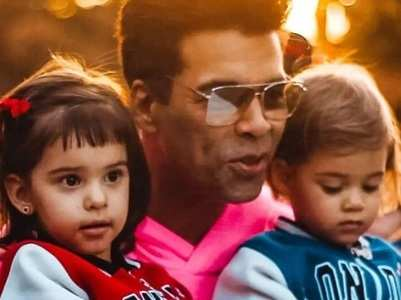 KJo bakes a cake for his kids Yash & Roohi