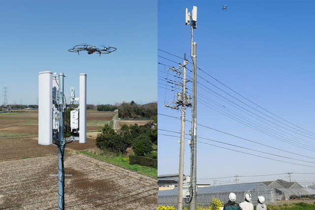 Rakuten Mobile to use drone to carry out base station inspection