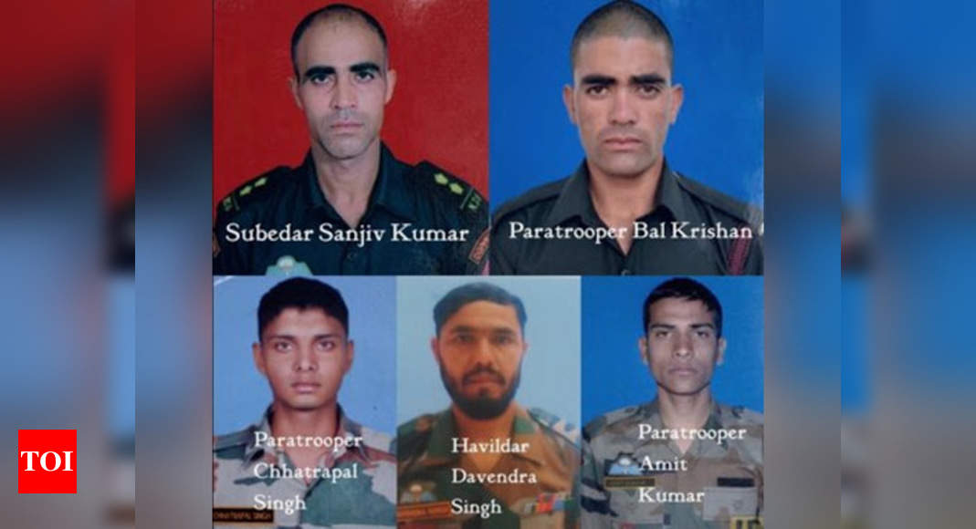 Army Special Forces commandos killed five terrorists after being air-dropped by helicopters | India News - Times of India