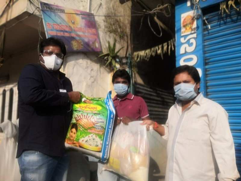 CCC starts distributing essentials to cine workers
