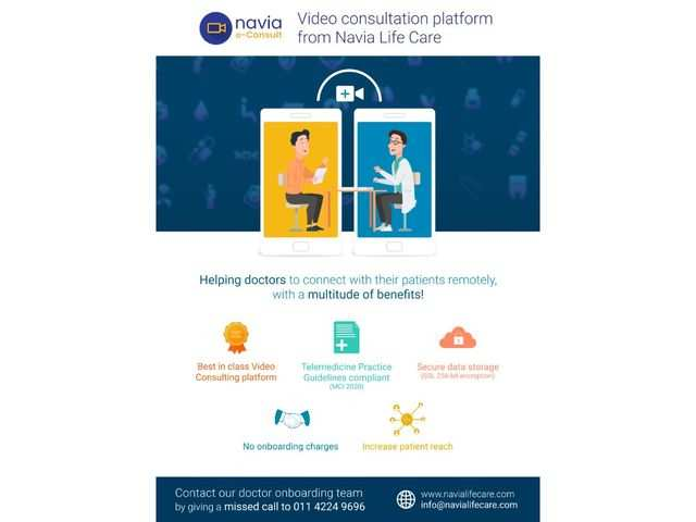 Navia Life Care launches video consultation platform for COVID-19 patients