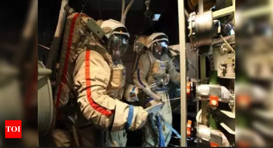 Indian astronauts finish 1/4th of Russia training; Clear key test last week; Next test in isolation | India News - Times of India