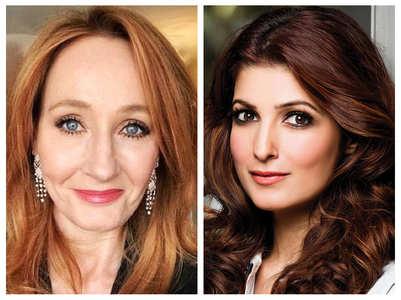 Twinkle Khanna shares JK Rowling's post