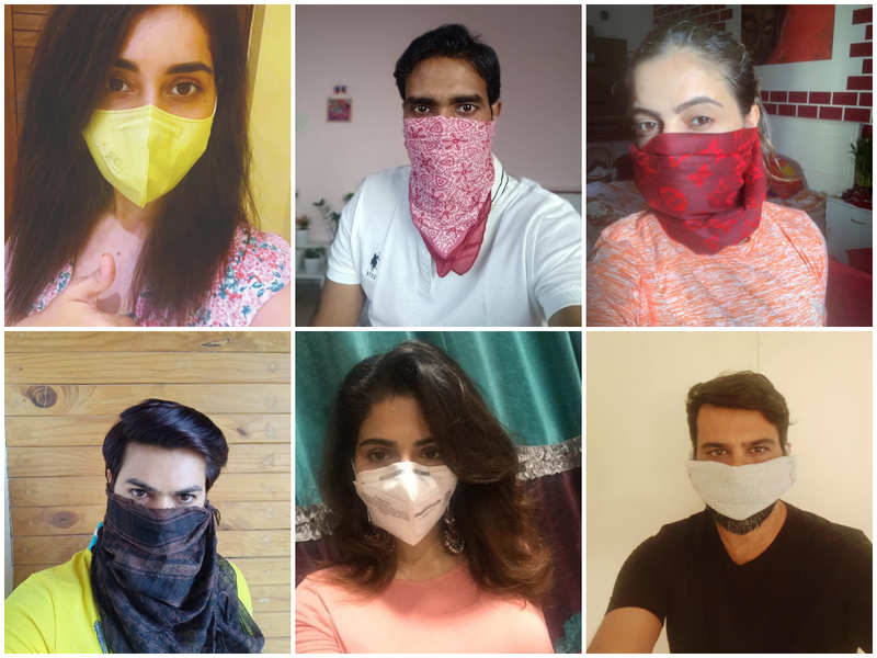 Fight the virus with homemade masks