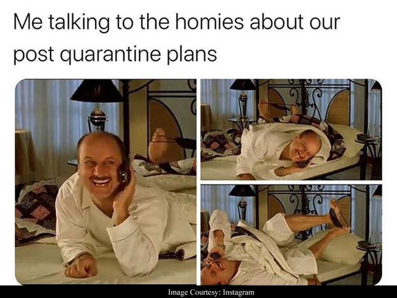 Anupam Kher shares 'Kuch Kuch Hota Hai' meme which perfectly describes the excitement of 'post quarantine plans'