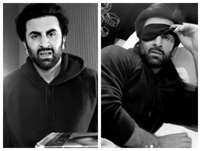 THESE stills of Ranbir Kapoor from his short film will drive away your lockdown woes