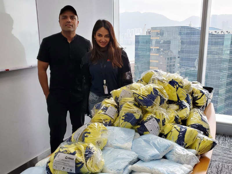 """""""The world needs as much help it can get at this time"""", says Rubina Bajwa as beau Gurbaksh Chahal extends help for Covid-19 relief"""
