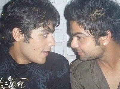Throwback pic of Abhishek Kapur-Virat Kohli