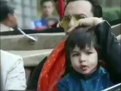 Taimur  looks cute in THIS throwback video